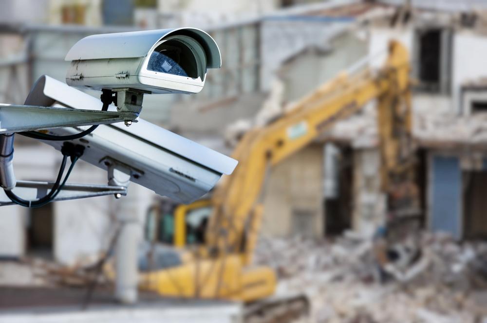 Видеонаблюдение строительной площадки