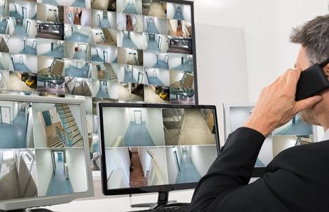 Контрольно-наблюдательный пункт охраны в бизнес-центре